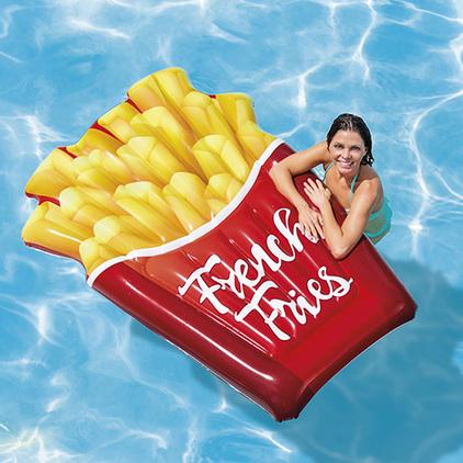 Attention, mise à l'eau du cornet de frites !