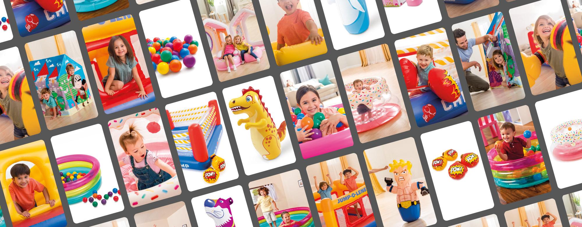 Des jeux d'intérieur gonflables parfait pour amuser vos enfants tout l'hiver