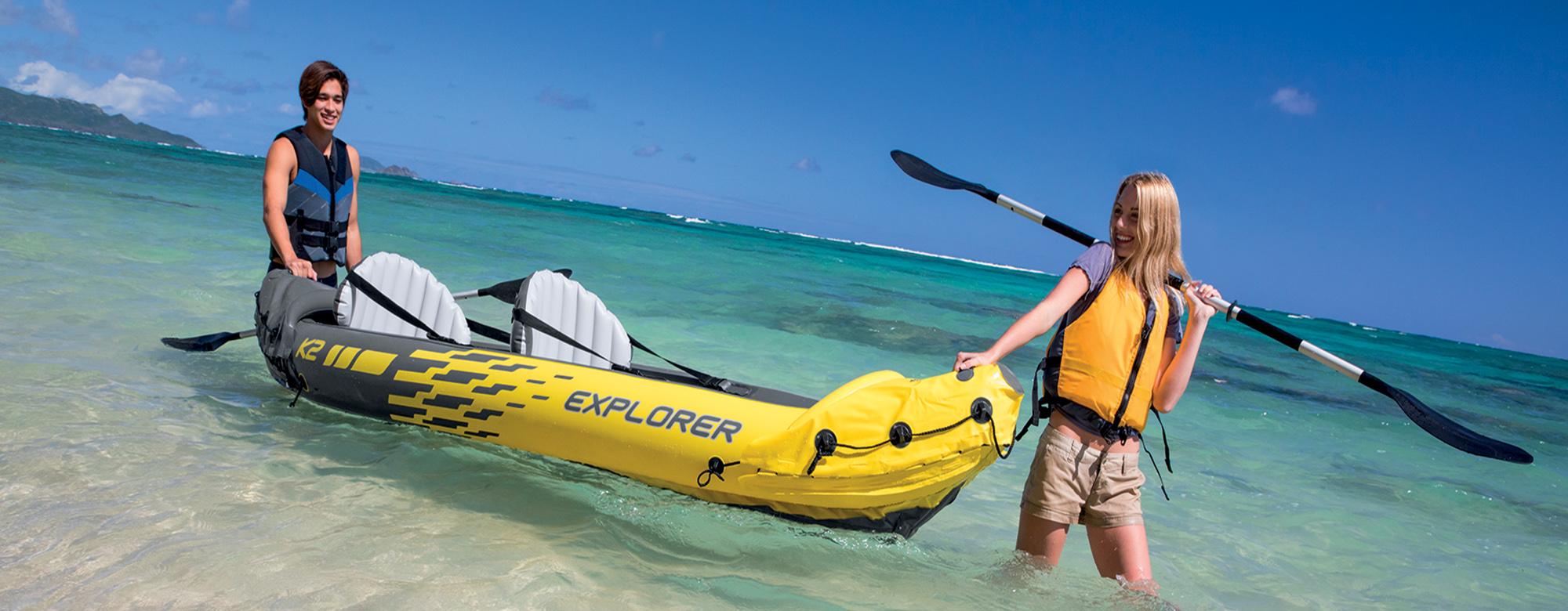 Où faire du kayak cet été ?