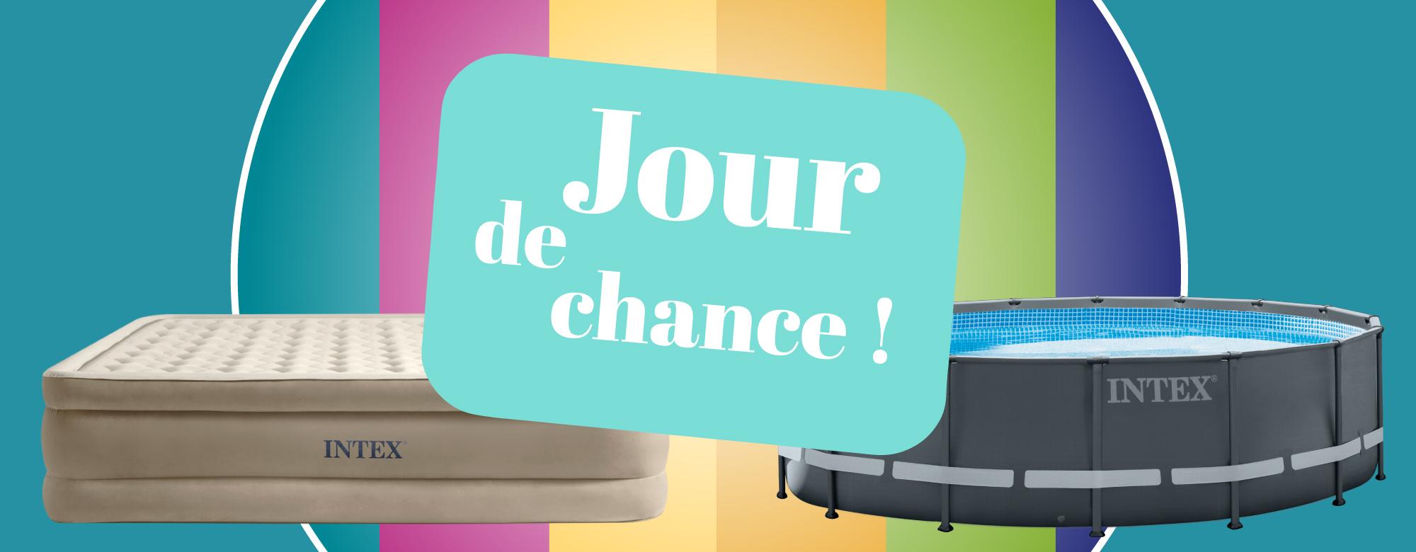 Du 1er mai au 31 juillet : participez à l'offre Un jour une chance !