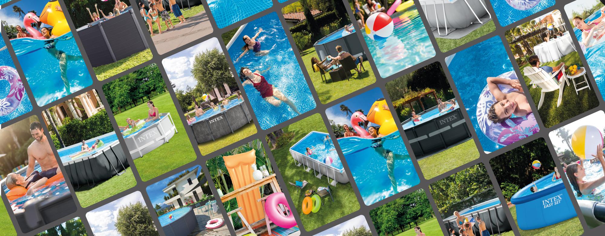 Nouvelle piscine Baltik INTEX