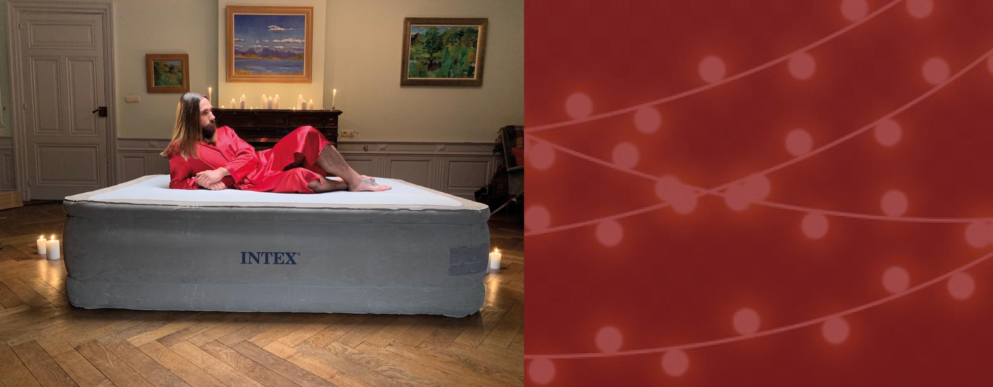 Bénéficiez de 50% de remise sur votre lit gonflable INTEX