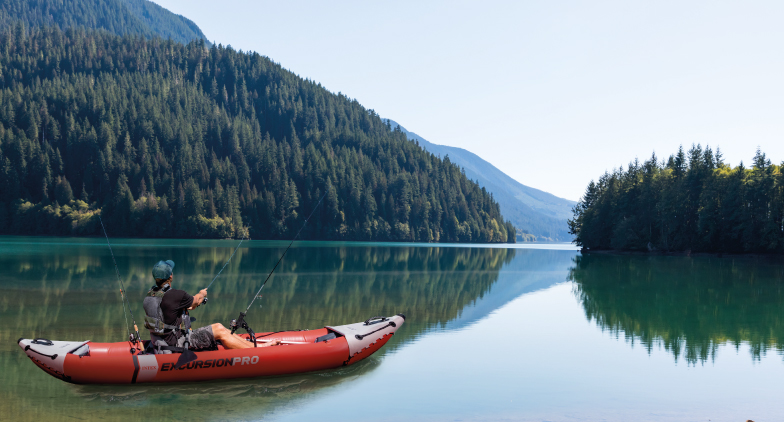 Les canoës et kayaks INTEX, des bateaux gonflables multifonctions