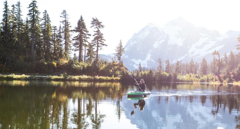 L'automne, la saison parfaite pour une balade en canoë-kayak
