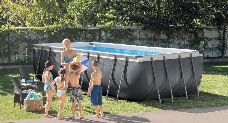 Une piscine tubulaire