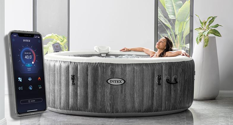 Un nouveau spa connecté
