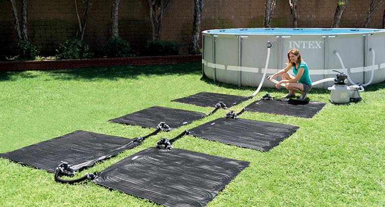 Utiliser un tapis solaire