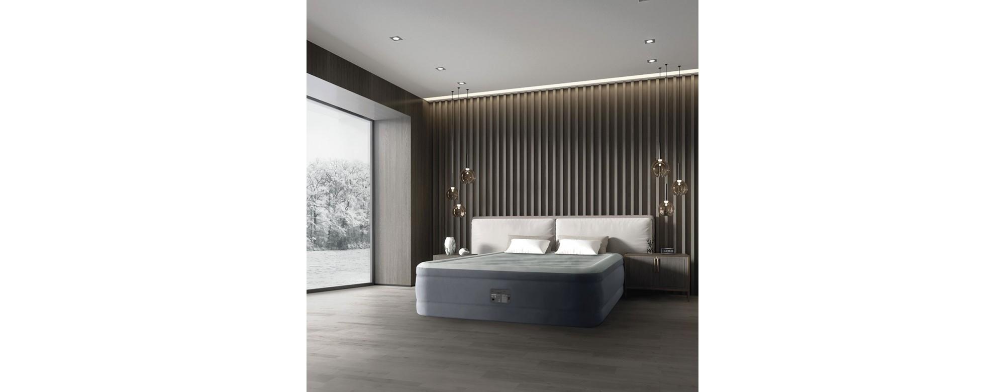 Lit gonflables électriques Intex : Optenez un lit en quelques minutes