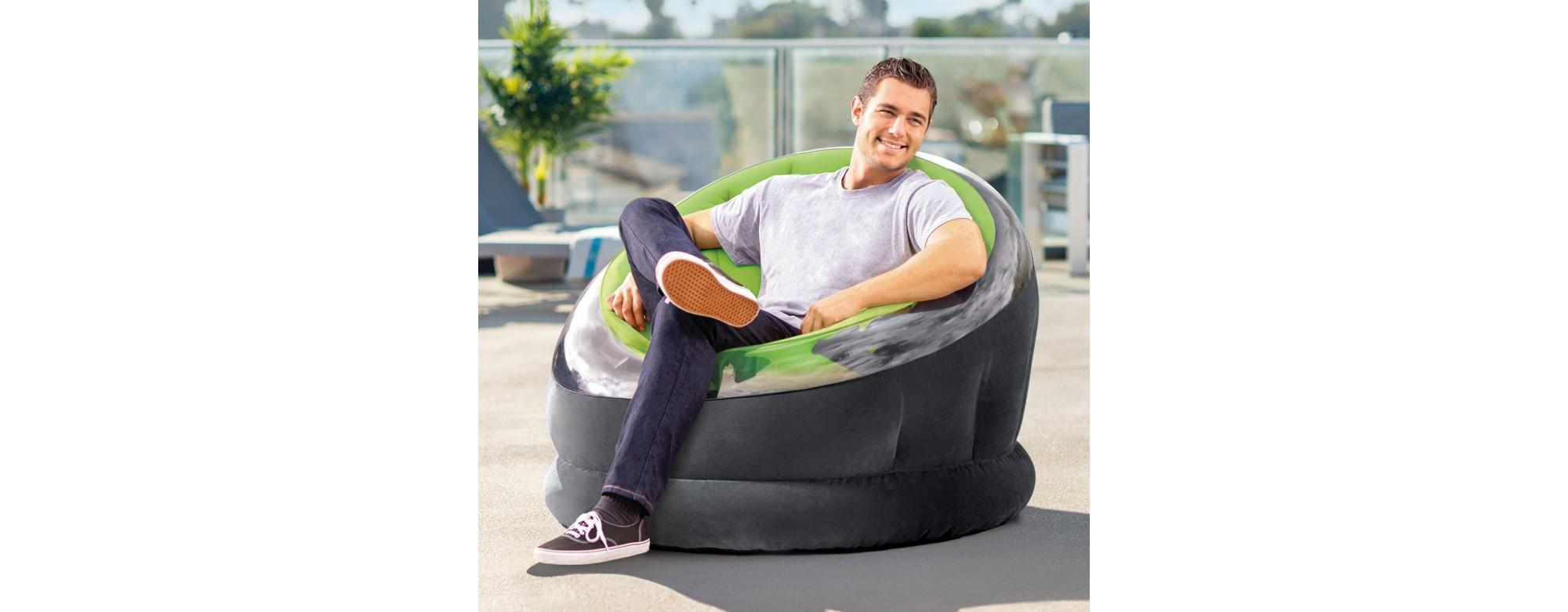 Les fauteuils gonflables Intex se plieront à toutes vos envies