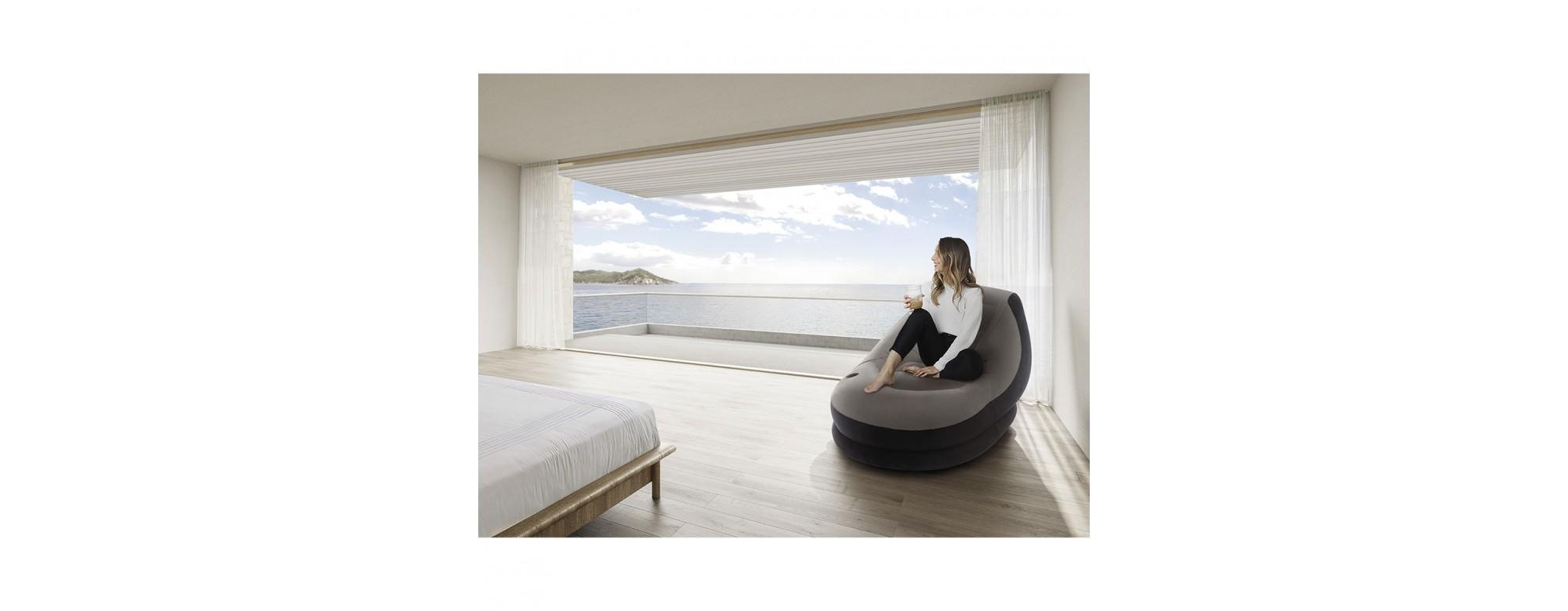 Détendez-vous avec les lounges gonflables Intex